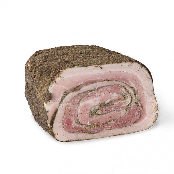 Rullepølse m. knust peber, Hel ca. 1,8 kg
