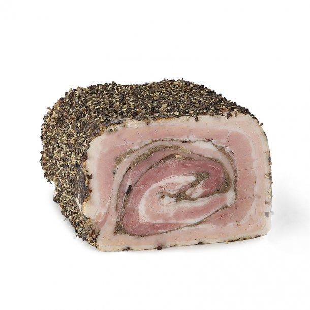 Rullepølse m. fin peber, Hel ca. 1,8 kg